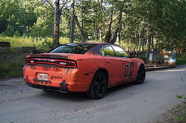 Check Out This Amazing General Lee Wrap Dodgeforumcom