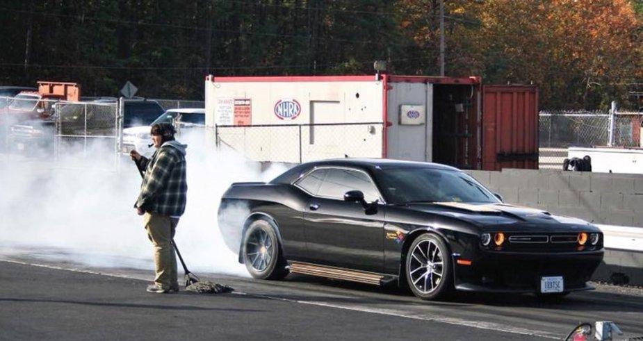 Maier Challenger Burnout