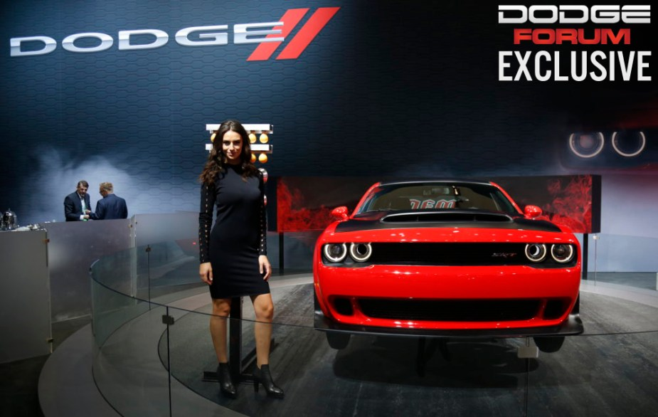 Dodge Challenger Demon at Los Angeles Auto Show