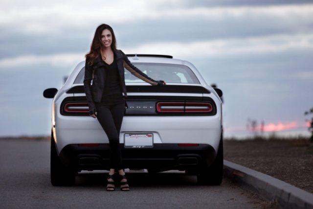 Erica Schrull the Challenger Girl's Hellcat