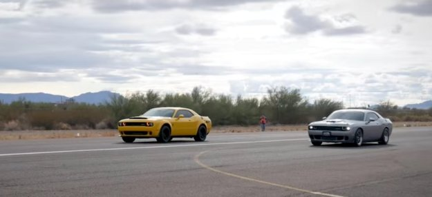 Demon Racing Hellcat on the Half Mile