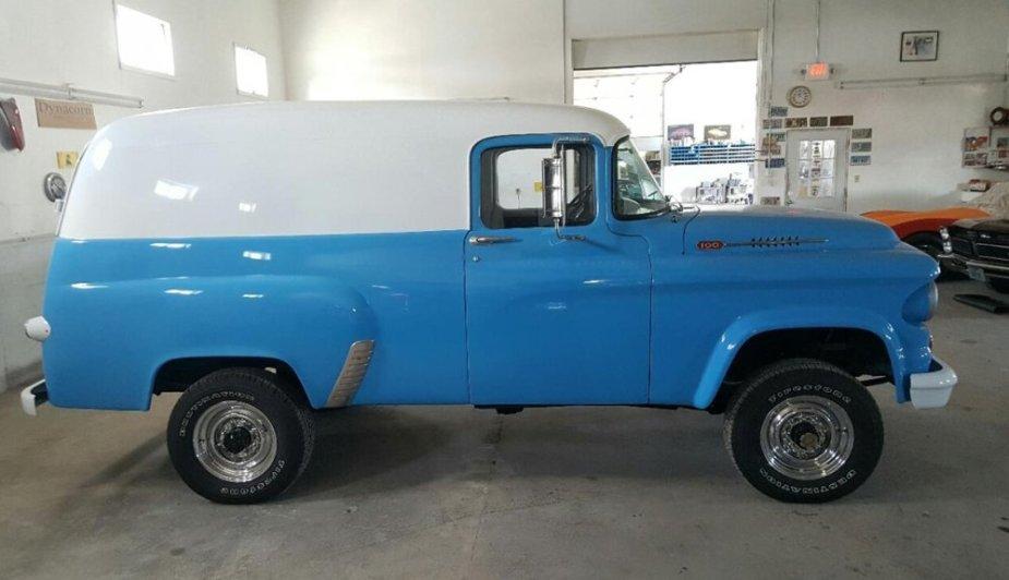 1963 Dodge Panel Van Wide