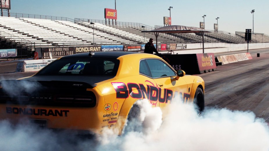 Bondurant Demon Burnout