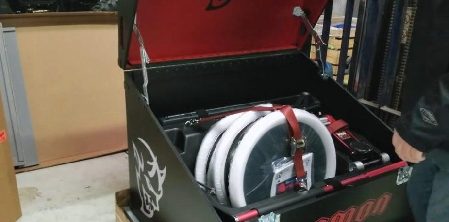 Demon Crate Lid Up