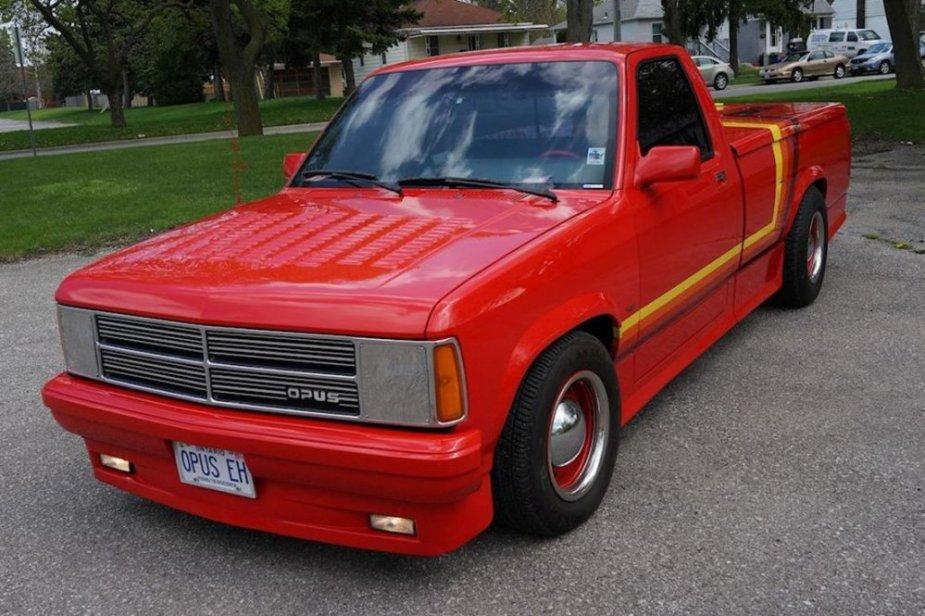 Custom Dodge 1987 Dakota High Front