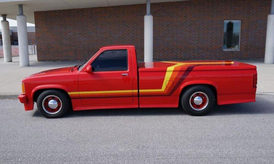1987 Dodge Dakota Custom Side