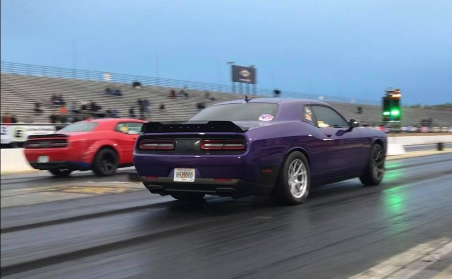 Smith HEllcat Challenger Launch