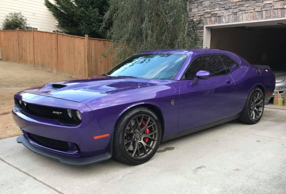 Smith Hellcat Challenger Driveway