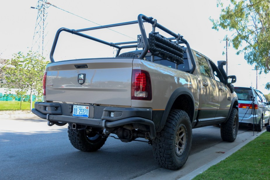 Dodgeforum.com American Expedition Vehicles AEV Recruit RAM 1500 Rebel Dodge Truck