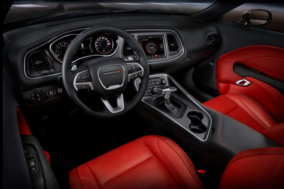 2018 Dodge Challenger SXT Plus (shown in Ruby Red/Black)