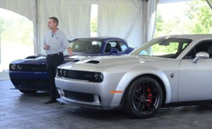 Redeye with Dodge Boss Steve Beahm