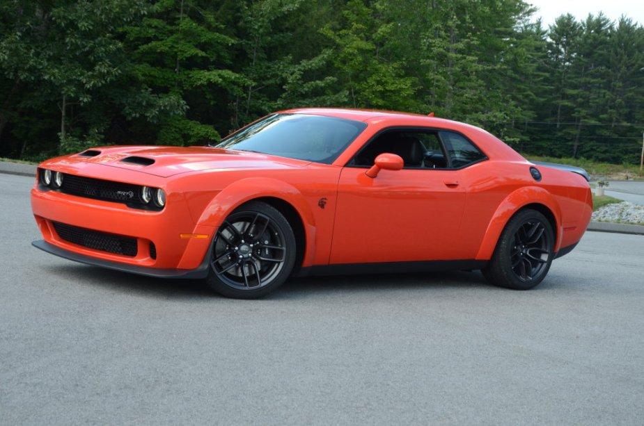 Go Mango Dodge Challenger Redeye