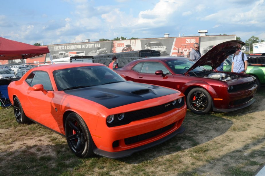 Hellcat Challenger and Demon
