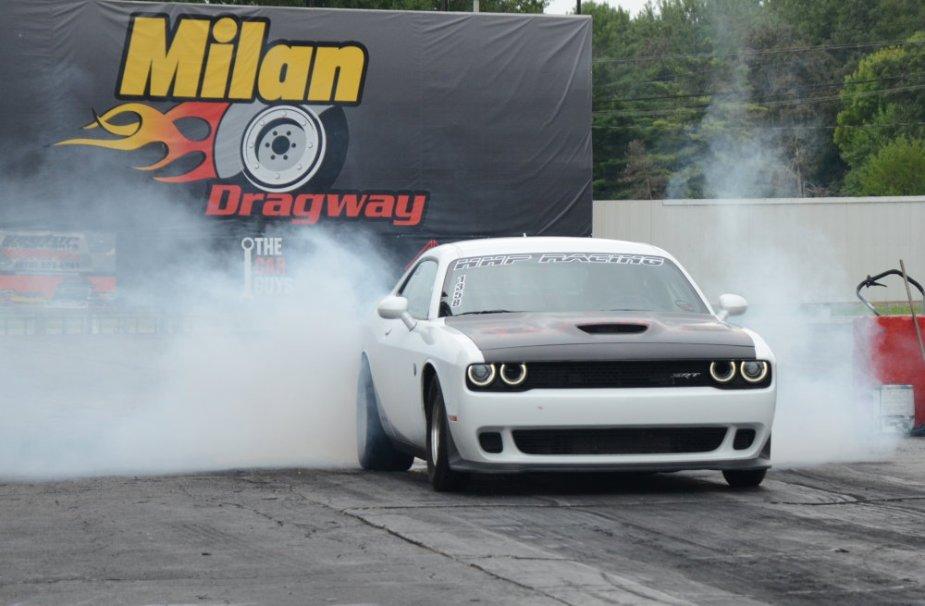 TopCat Challenger Doing a Burnout