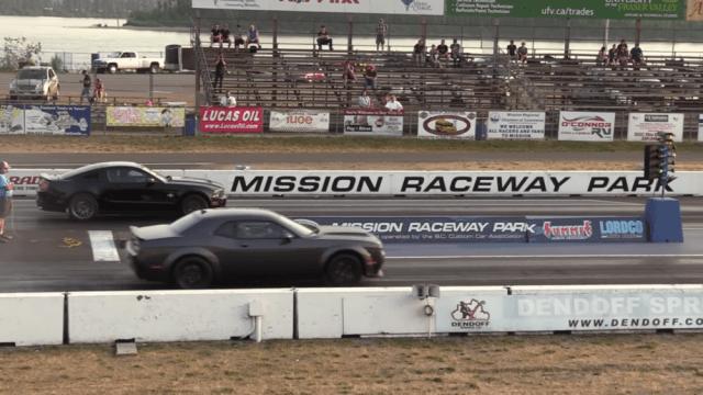 Demon vs 2010 GT500