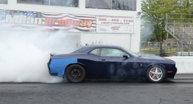 Phast Hemi Hellcat Challenger Burnout