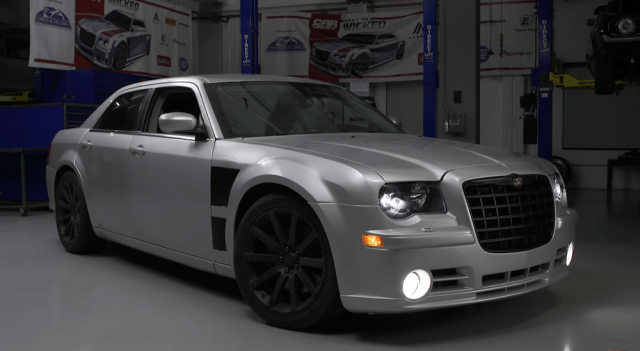 Car Craft's 560-horse Chrysler 300C SRT8.