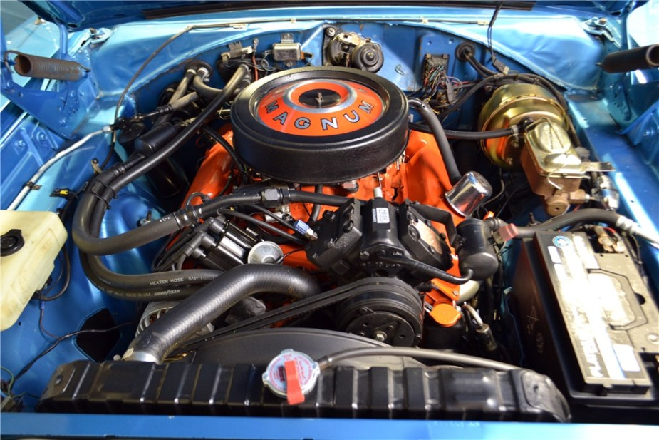 1969 Dodge Charger R/T Engine