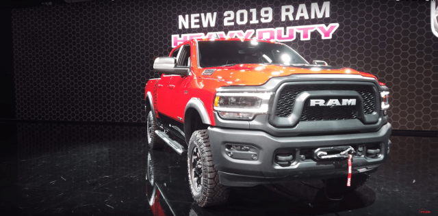 2019 Ram 2500 Heavy Duty front end