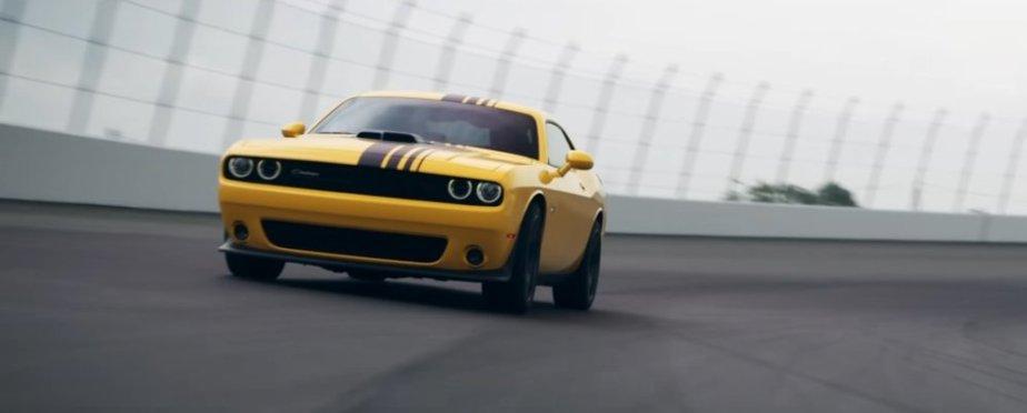 Dodge Challenger Driver's Side on Track