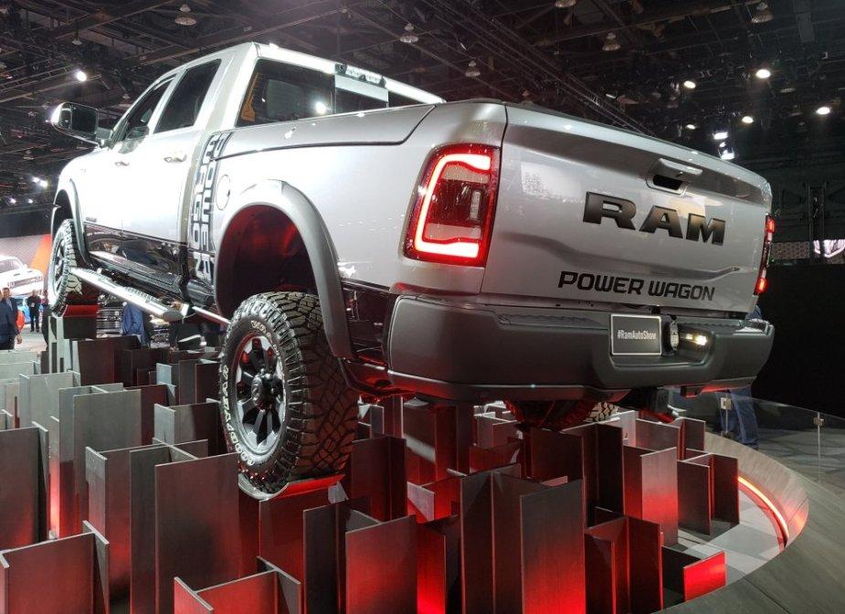 Ram Power Wagon Rear