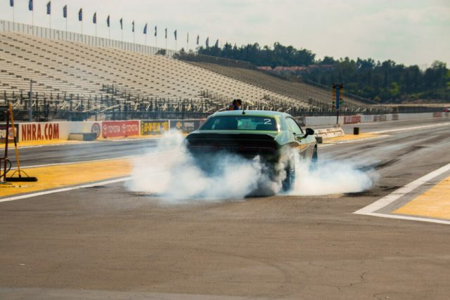 1320 Scat Pack Challenger Green