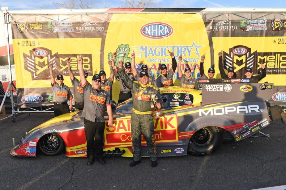 SRT Team at Dodge Hemi Challenge Drag Racing