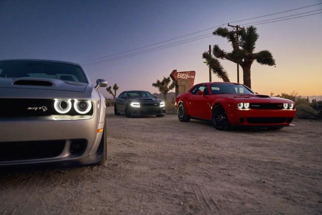 2019 Dodge Challenger SRT Hellcat Redeye Widebody, Charger SRT Hellcat, Challenger R/T Scat Pack Widebody