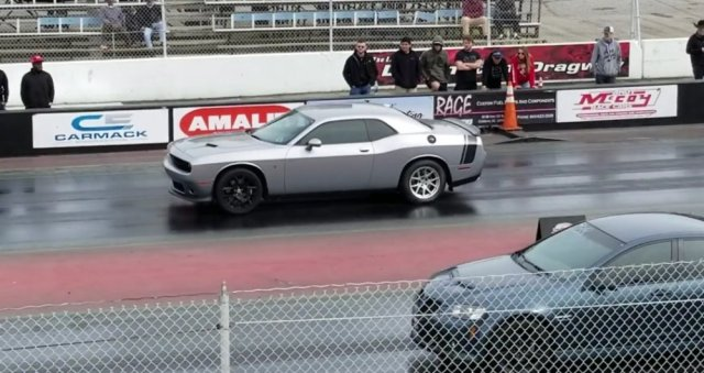 Scat Pack Challenger Launch