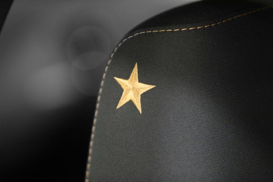 Stars & Stripes Dodge Interior