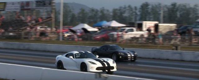 Dodge Viper Winning