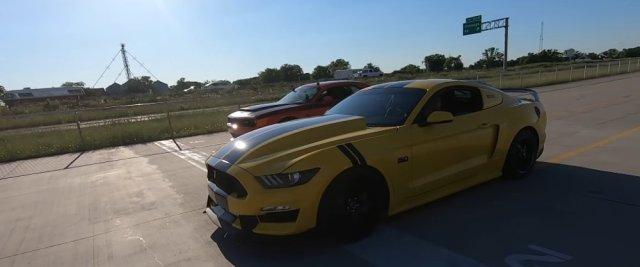 Demon Versus Mustang