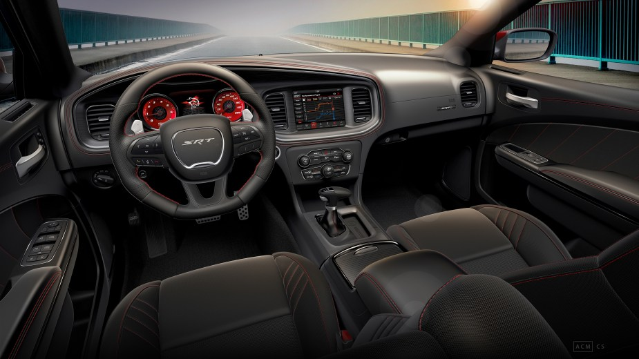 Interior of 2019 Dodge Charger SRT Hellcat Octane Edition