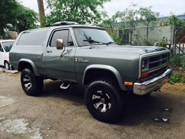 1986 Dodge Ramcharger For Sale In West Palm Beach FL