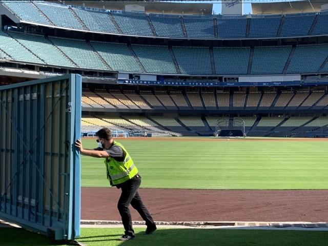 Dodger Stadium Renovations
