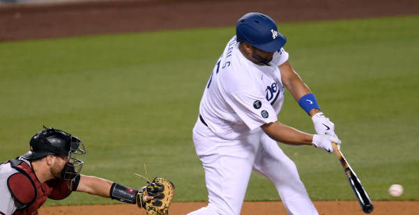 Pujols RBI in First Dodger Game