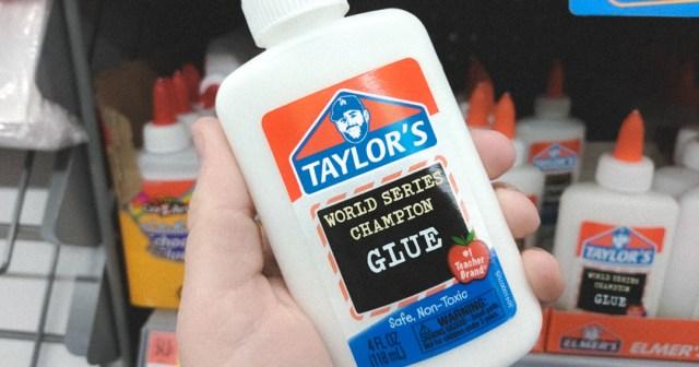 Taylor's Glue - Stick 'Em All