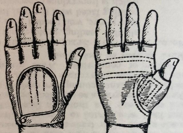 Brakeman Style glove
