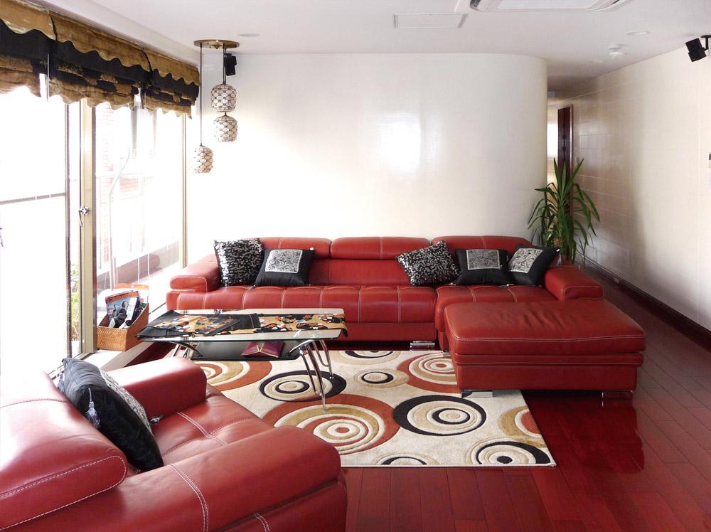 神戸市・J邸リビングルーム