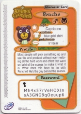 Poncho - Nookipedia, the Animal Crossing wiki