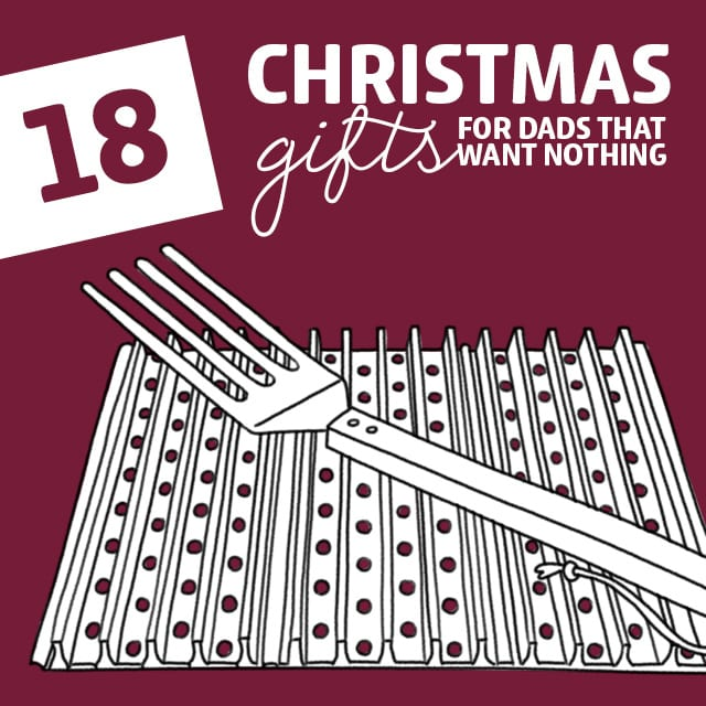 18 Cool Christmas Gifts For Dads That Want Nothing Dodo Burd