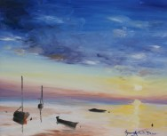 """Detail from """"Silence on the sea"""""""
