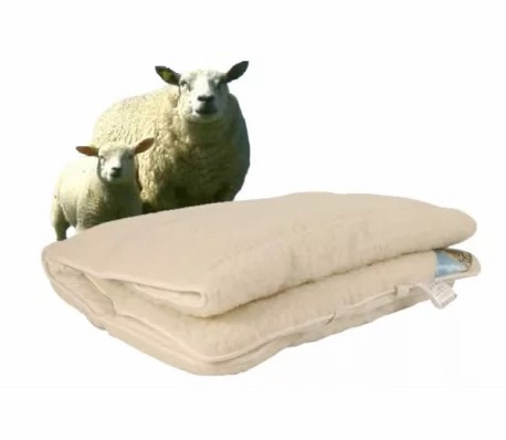 sheep wool onderdeken