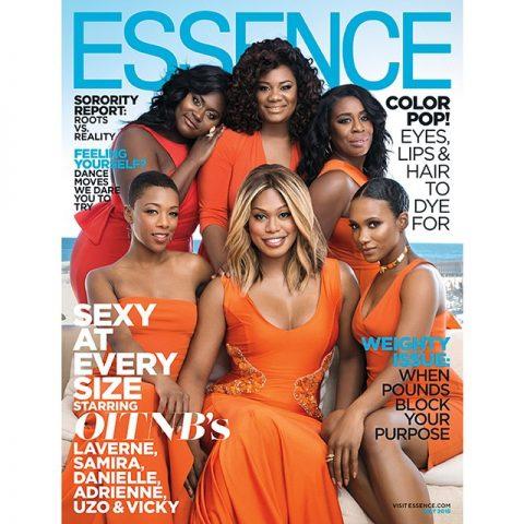 Posture of her tv series, Orange is the New Black