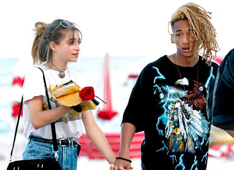 Jaden Smith and his girlfriend, Odessa