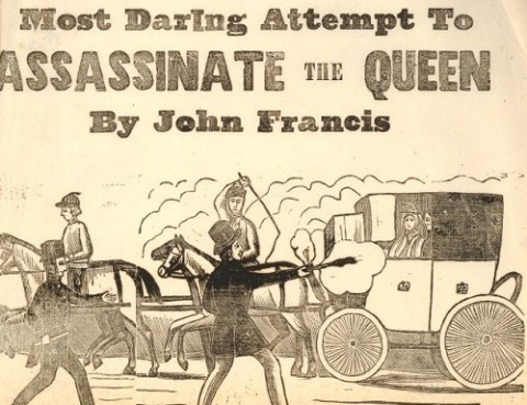 Francis' attempted assassination of the Queen