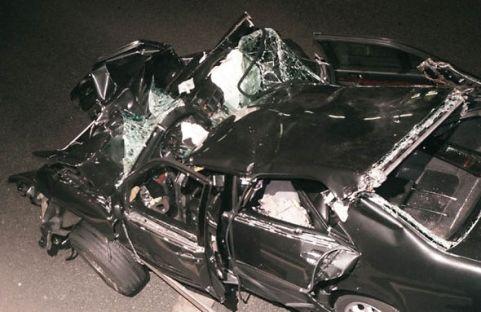 Car crash that killed Princess Diana