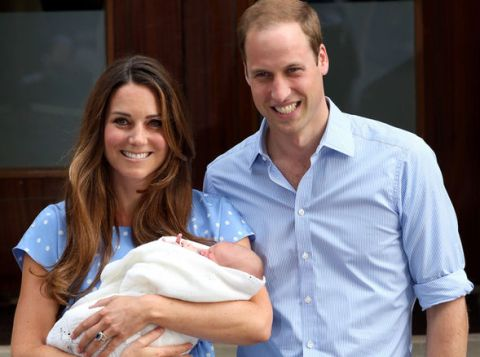 First child of The Duke and Duchess