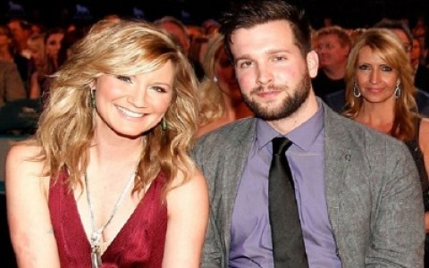 Jennifer Nettles and Justin Miller