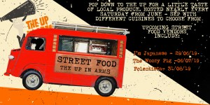 Up In Arms Street Food - Nearly every Saturday from June to September